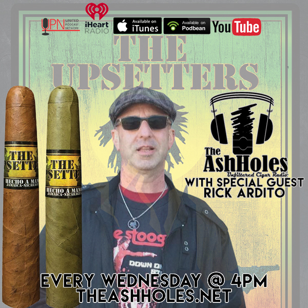 Jamaican Tobacco From The Upsetters With Rick Ardito