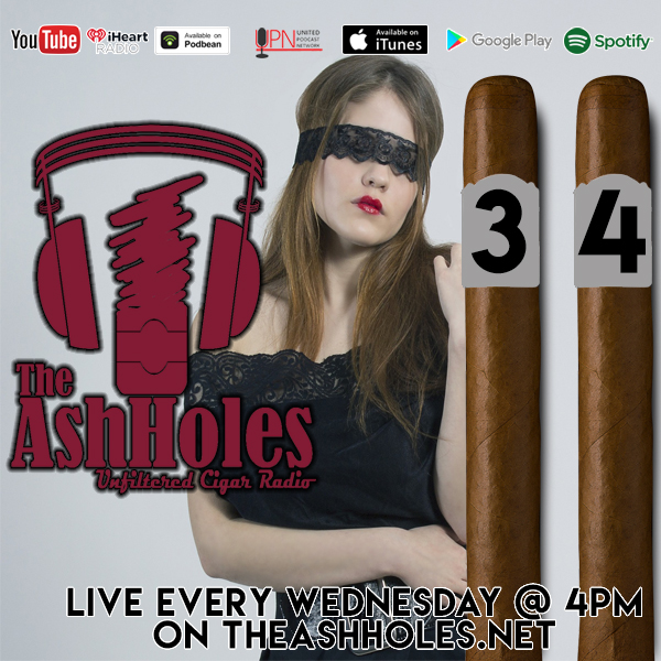 Smoking Blind With Cigars #3 vs #4