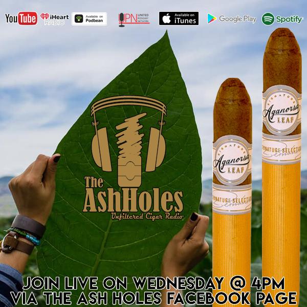 Smoking the Aganorsa Leaf Signature Belicoso