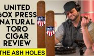 United Cigar Box Press Natural Toro Review