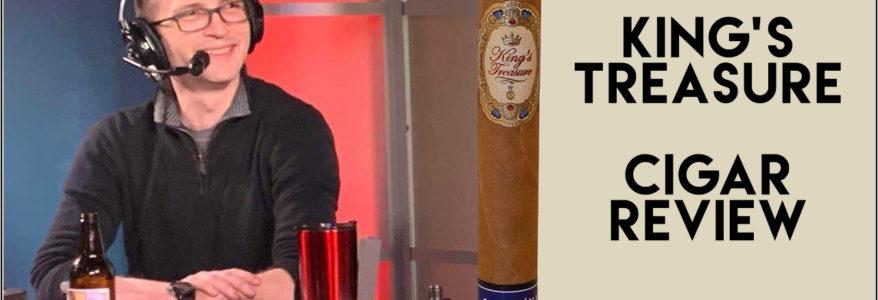 King's Treasure Cigar Review - The Ash Holes
